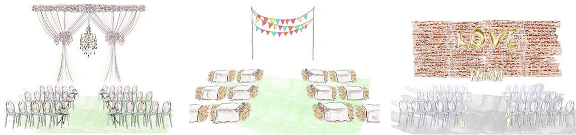 Illustrations cérémonie laïque