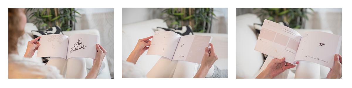 Extrait : Le livre de notre histoire (album pour couple) © Aurélie Ménard Photography